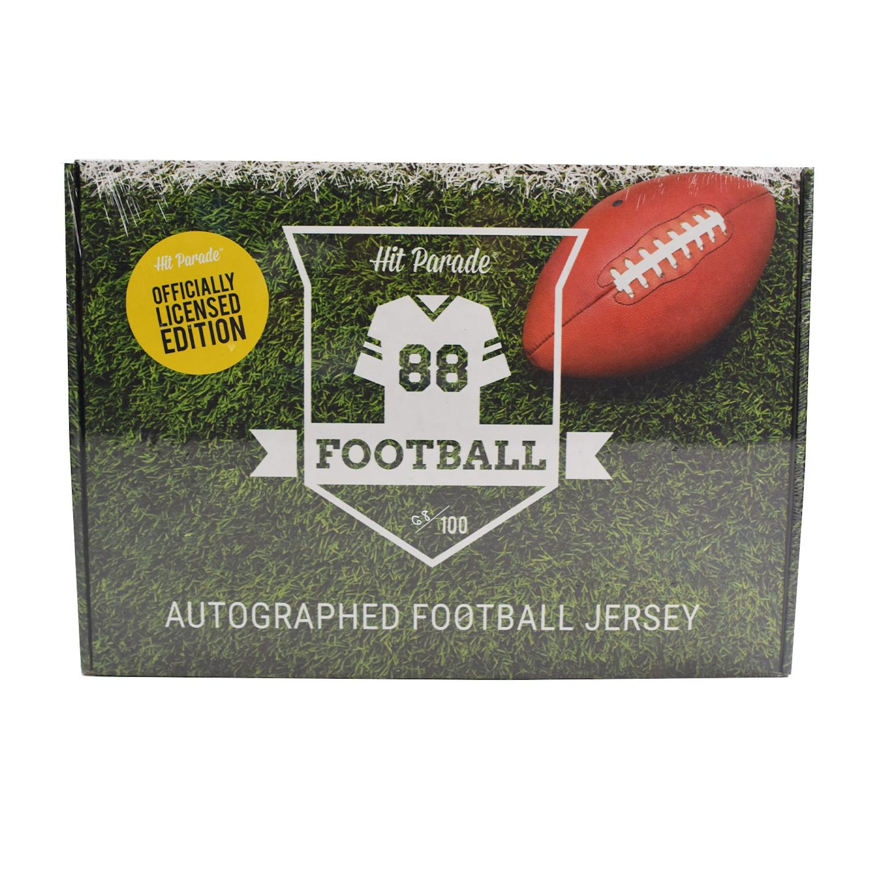 sale retailer 6d08a 00440 2019 Hit Parade Autographed OFFICIALLY LICENSED Football Jersey Hobby Box -  Series 2 - Tom Brady & Joe Namath!