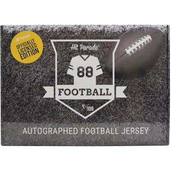 2020 Hit Parade Auto OFFICIALLY LICENSED Football Jersey Box Ser 1- DACW Live 8 Spot Random Division Break #8