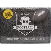 2020 Hit Parade Auto OFFICIALLY LICENSED Football Jersey Box Ser 3- DACW Live 8 Spot Random Division Break #7