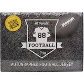 2020 Hit Parade Auto OFFICIALLY LICENSED Football Jersey Box Ser 3- DACW Live 8 Spot Random Division Break #7