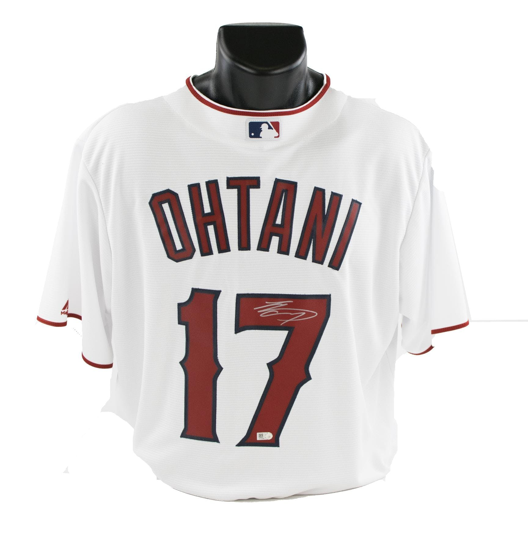 Shohei Ohtani Autographed Los Angeles Angels Official Majestic Jersey (MLB  Authenticated)  2c8f656f6