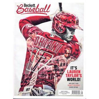 2021 Beckett Baseball Monthly Price Guide (#188 November) (Shohei Othani)