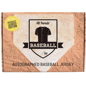 2021 Hit Parade Autographed Officially Licensed Baseball Jersey - Series 5 - Hobby 10-Box Case - Judge!!