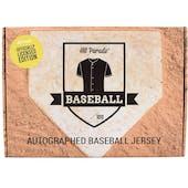 2021 Hit Parade Auto Baseball OFFICIALLY LICENSED Jersey 1-box Ser 6 DACW Live 6 Spot Random Division Break #4