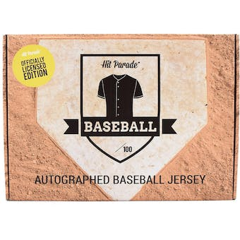 2021 Hit Parade Autographed Officially Licensed Baseball Jersey - Series 6 - Hobby Box - Acuna & Guerrero Jr.!
