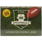 2020 Hit Parade Auto OFFICIALLY LICENSED Football Jersey Box Ser 2- DACW Live 8 Spot Random Division Break #2
