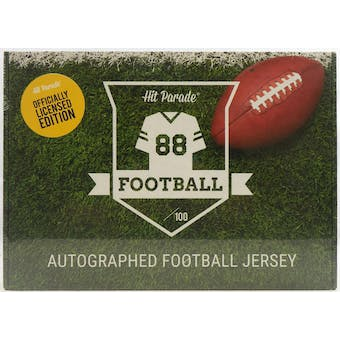 2020 Hit Parade Autographed OFFICIALLY LICENSED Football Jersey Hobby Box - Series 2 - Patrick Mahomes!!