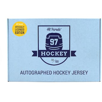 2019/20 Hit Parade Autographed OFFICIALLY LICENSED Hockey Jersey Hobby Box - Series 3 - Sidney Crosby!!