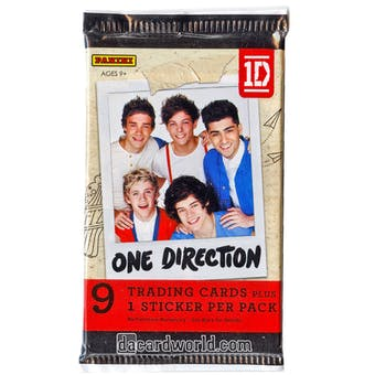 HUGE Panini One Direction Retail Pack Lot - $10,000+ SRP! 5,000+ Packs!!