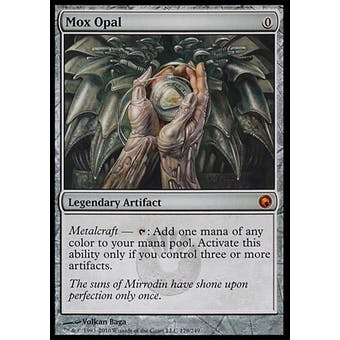 Magic the Gathering Scars of Mirrodin Single Mox Opal - MODERATE PLAY (MP)