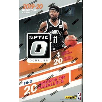2019/20 Panini Donruss Optic Basketball 20-Pack Box