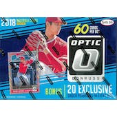 2018 Panini Donruss Optic Baseball Mega 60ct Box