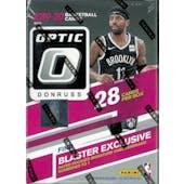 2019/20 Panini Donruss Optic Basketball 7-Pack Blaster 20-Box Case