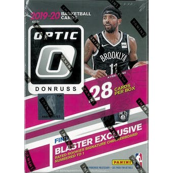 2019/20 Panini Donruss Optic Basketball 7-Pack Blaster Box