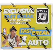 2017/18 Panini Donruss Optic Fast Break Basketball Box