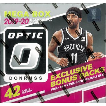 2019/20 Panini Donruss Optic Mega Basketball 42-Card Box