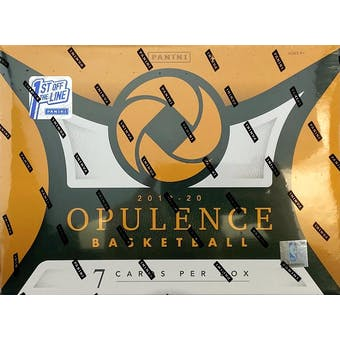2019/20 Panini Opulence 1st Off The Line Basketball Hobby Box