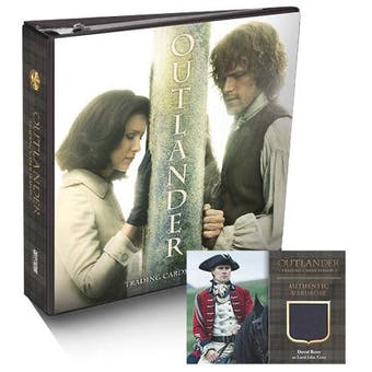Outlander Season 3 Trading Cards Binder (Cryptozoic 2018)