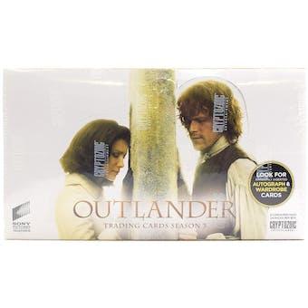 Outlander Season 3 Trading Cards Box (Cryptozoic)