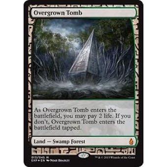 Magic the Gathering Zendikar Expedition Single Overgrown Tomb FOIL - NEAR MINT (NM)
