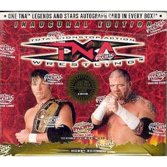 2004 Pacific TNA Wrestling Hobby Box