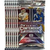 2018 Panini Contenders Draft Football Blaster Pack (Lot of 7) = 1 Blaster Box