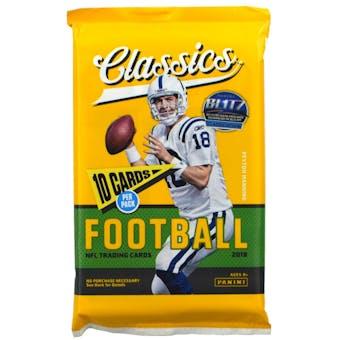 2018 Panini Classics Football Retail Pack (Lot of 24)