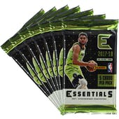 2017/18 Panini Essentials Basketball Blaster Pack (Lot of 7) = 1 Blaster Box