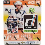 2018 Panini Donruss Football Mega Box