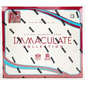 2020 Panini Immaculate Football 1st Off The Line FOTL Hobby Box