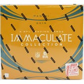2019 Panini Immaculate 1st Off The Line Premium Edition Football Hobby Box