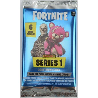 Fortnite Series 1 Trading Cards Hobby Pack (Panini 2019)