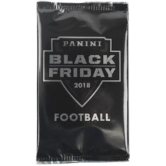 2018 Panini Black Friday NFL Football Pack