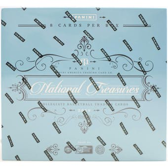2019/20 Panini National Treasures Collegiate Basketball Hobby Box