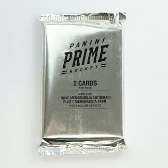 2019/20 Panini Prime Hockey Hobby Pack