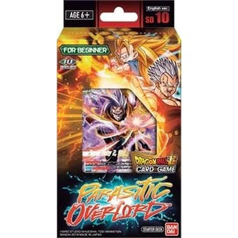 Dragon Ball Super TCG Malicious Machinations Starter Deck - Parasitic Overlord