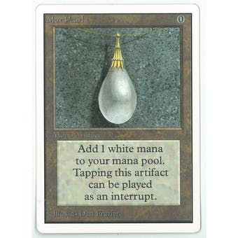 Magic the Gathering Unlimited Single Mox Pearl - NEAR MINT (NM-)