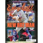 2019 Beckett Baseball Monthly Price Guide (#162 September) (Pete Alonso)
