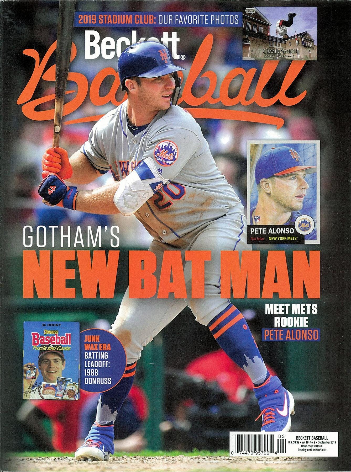 2019 Beckett Baseball Monthly Price Guide (#162 September) (Pete Alonso)