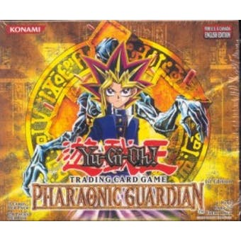 Upper Deck Yu-Gi-Oh Pharaonic Guardian 1st Edition Booster Box (24-Pack) PGD