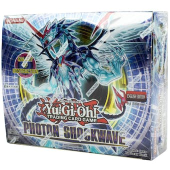 Yu-Gi-Oh Photon Shockwave 1st Edition Booster Box