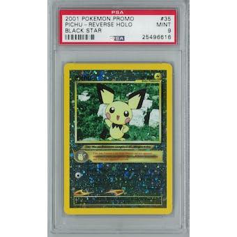 Pokemon Black Star Promo Pichu 35 Holo Rare PSA 9