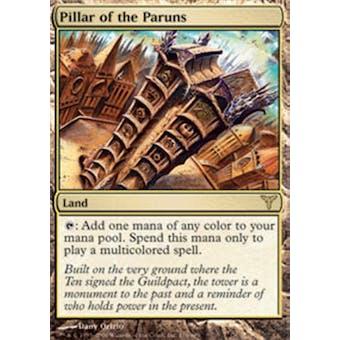 Magic the Gathering Dissension Single Pillar of the Paruns Foil