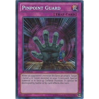 Yu-Gi-Oh Lord Tachyon Galaxy Single Pinpoint Guard Secret Rare