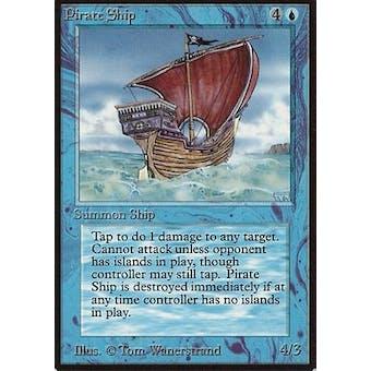 Magic the Gathering Beta Single Pirate Ship - NEAR MINT (NM)