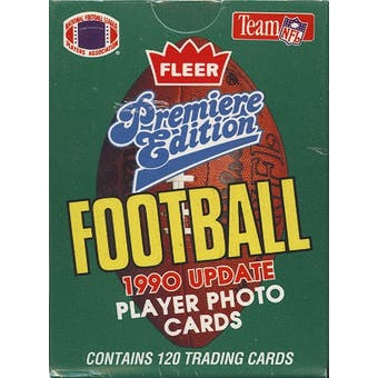 1990 Fleer Update Football Factory Set