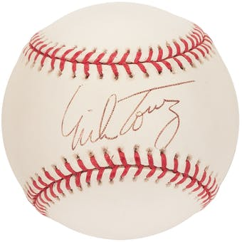 Mike Torrez Autographed Boston Red Sox Official MLB Baseball (PSA)