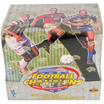 2001/02 WOTC Soccer (Football) Champions Trading Card Game Italian Starter Box