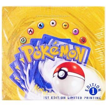 Pokemon Base Set 1 Booster Box - 1st Edition Shadowless Limited Printing