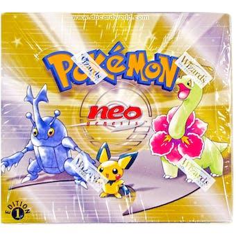 Pokemon Neo 1 Genesis 1st Edition Booster Box